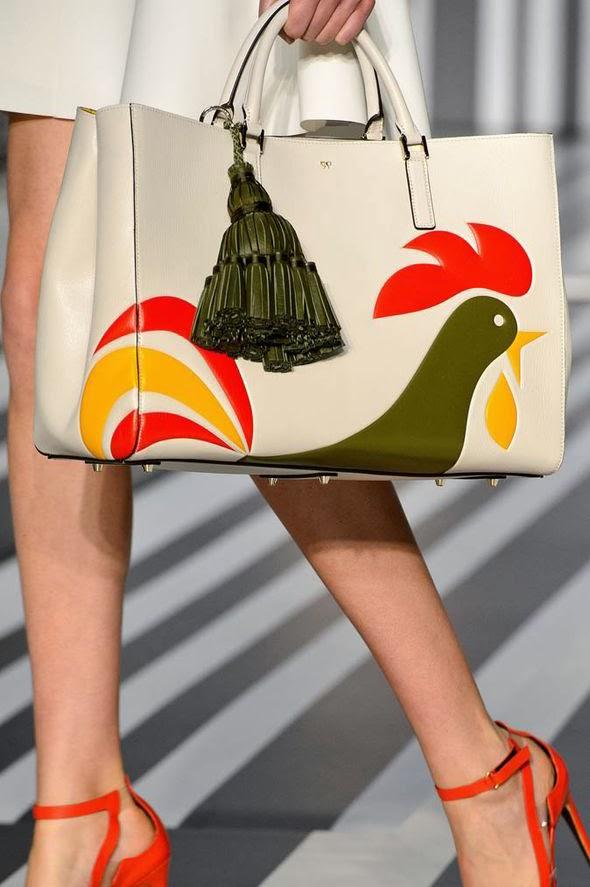92a8642d3d3da Anya Hindmarch Fall 2014 – Fashion On Board